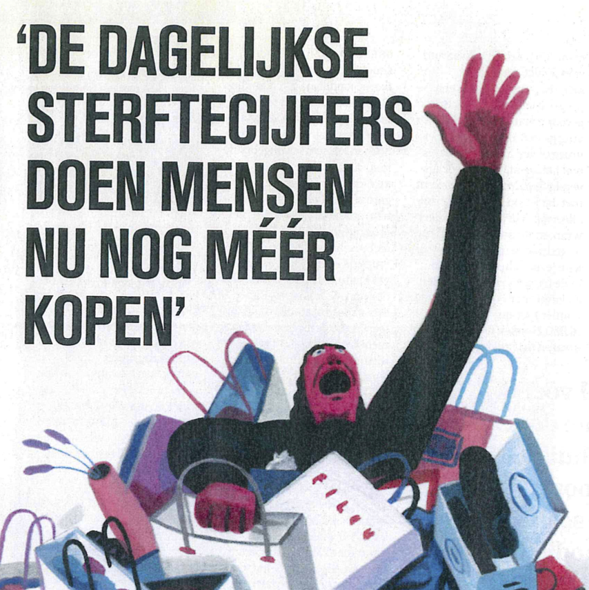 Illustratie HUMO dossier koopverslaving december 2020